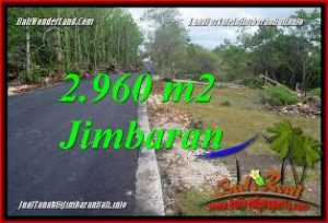 Magnificent PROPERTY LAND IN JIMBARAN UNGASAN FOR SALE TJJI133A