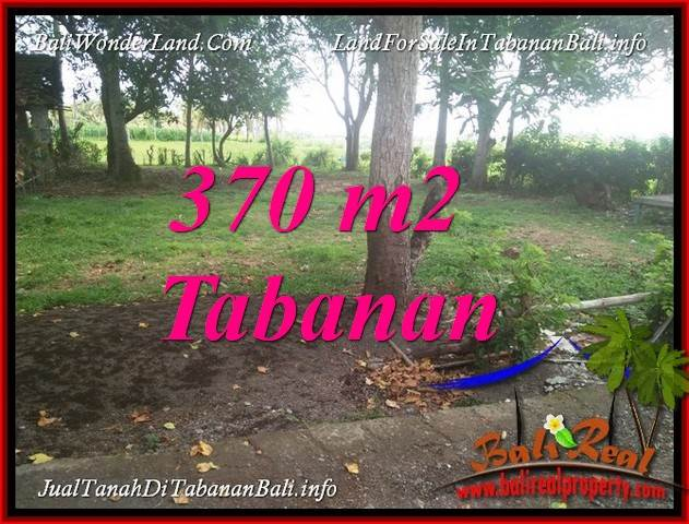 370 m2 LAND IN TABANAN BALI FOR SALE TJTB383