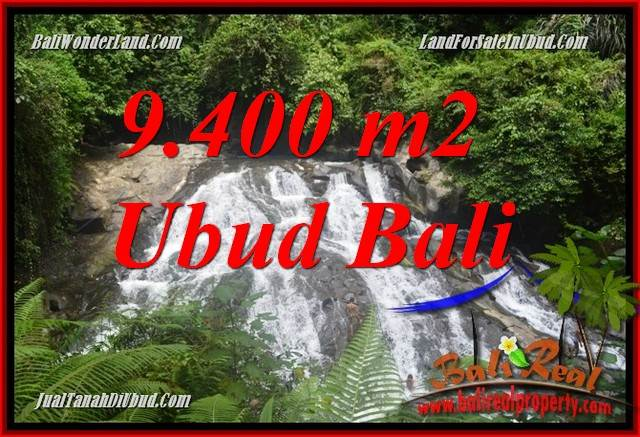 Exotic 9,400 m2 Land sale in Ubud Bali TJUB686