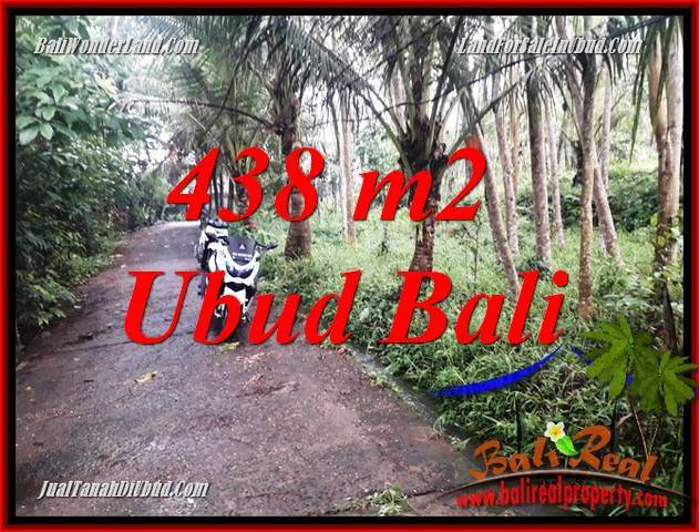 Affordable Property Land in Ubud Bali for sale TJUB689