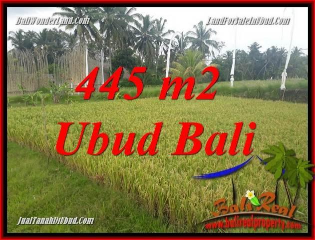 Exotic 445 m2 Land for sale in Ubud Pejeng TJUB695