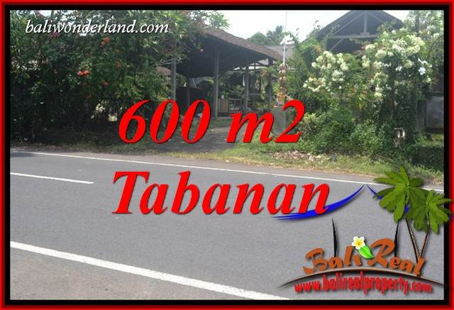 Tabanan Bali 600 m2 Land for sale TJTB400
