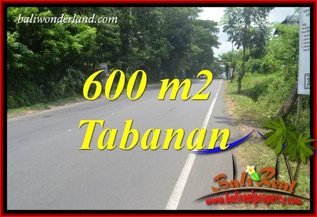 Exotic Tabanan Bali 600 m2 Land for sale TJTB401