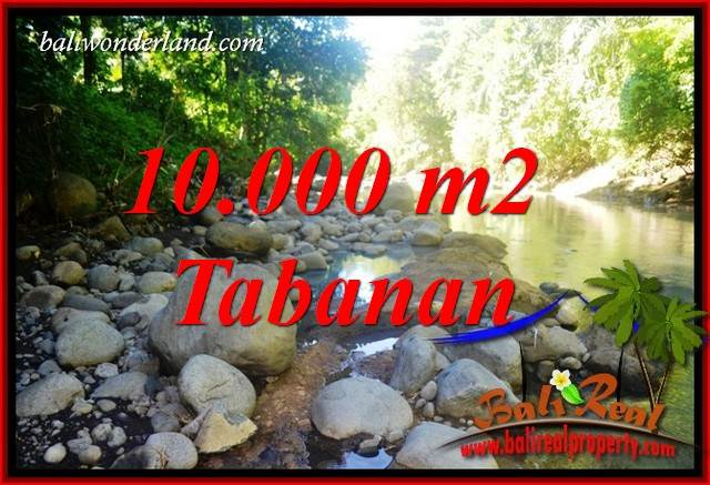 Exotic 10,000 m2 Land sale in Tabanan Bali TJTB406
