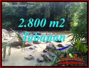Beautiful Property 2,800 m2 Land sale in Tabanan Selemadeg TJTB411