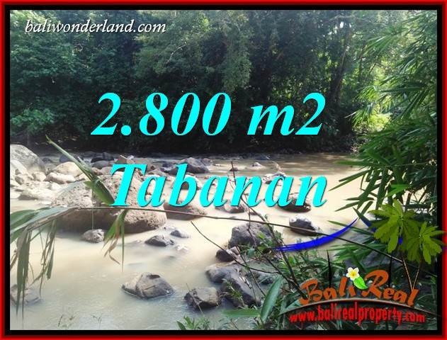 Magnificent Property 2,800 m2 Land sale in Tabanan Selemadeg TJTB411