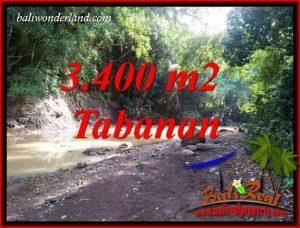 Affordable Tabanan Bali 3,400 m2 Land for sale TJTB412