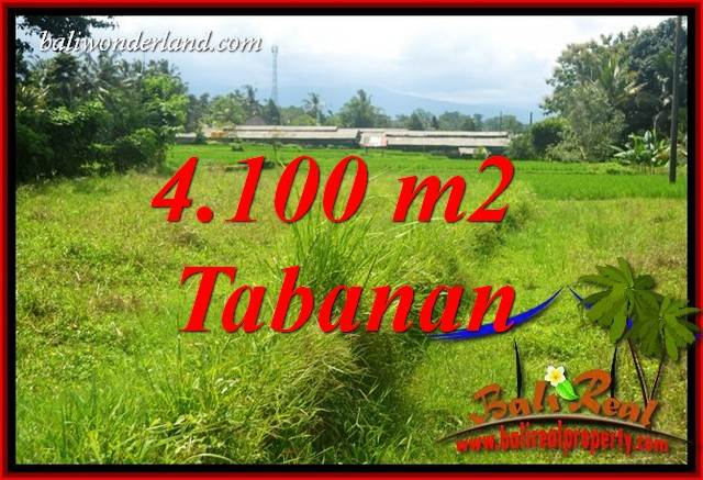 FOR sale Exotic 4,100 m2 Land in Tabanan Bali TJTB417