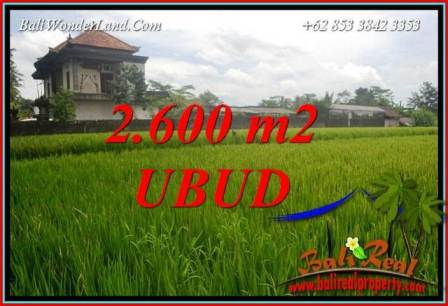 FOR sale Affordable Land in Ubud Pejeng Bali TJUB701