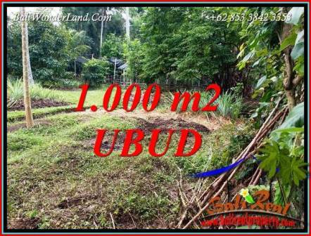 Exotic Property Land for sale in Ubud Bali TJUB712