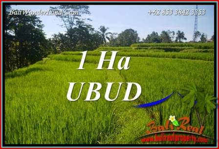 FOR sale 10,000 m2 Land in Ubud Bali TJUB715