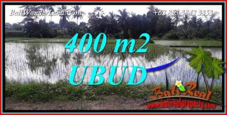 FOR sale Magnificent Property 400 m2 Land in Sentral Ubud TJUB721