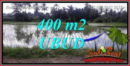 Exotic Property 400 m2 Land sale in Sentral Ubud Bali TJUB721