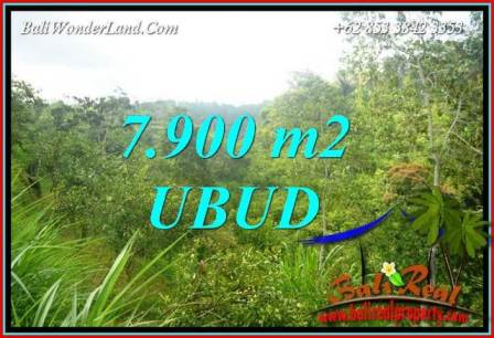 Exotic 7,900 m2 Land in Ubud Tegalalang for sale TJUB729