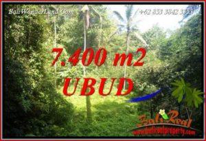 Exotic 7,700 m2 Land sale in Ubud Bali TJUB734