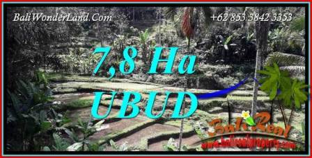 Beautiful Ubud Bali Land for sale TJUB741
