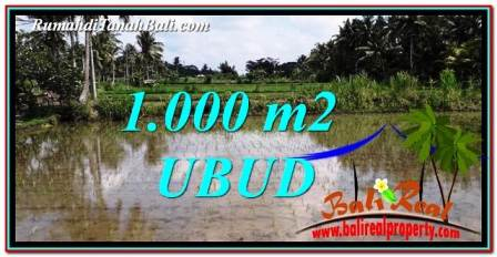 Exotic PROPERTY UBUD LAND FOR SALE TJUB753