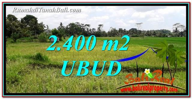 Beautiful 2,400 m2 LAND IN Ubud Tampak Siring FOR SALE TJUB757