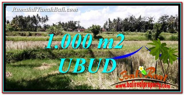Exotic LAND SALE IN UBUD TJUB760