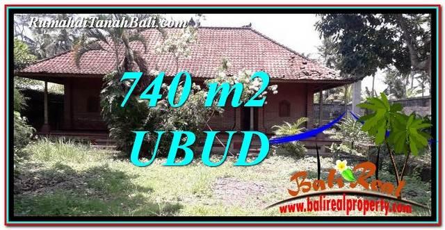 Exotic PROPERTY Ubud Pejeng 740 m2 LAND FOR SALE TJUB764