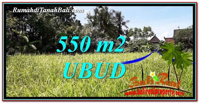 Exotic PROPERTY LAND FOR SALE IN UBUD BALI TJUB766