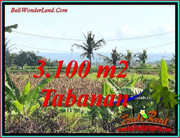 Exotic LAND SALE IN TABANAN BALI TJTB485
