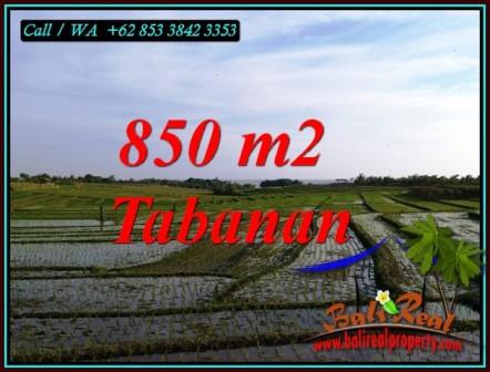 FOR SALE Beautiful PROPERTY 850 m2 LAND IN TABANAN TJTB494